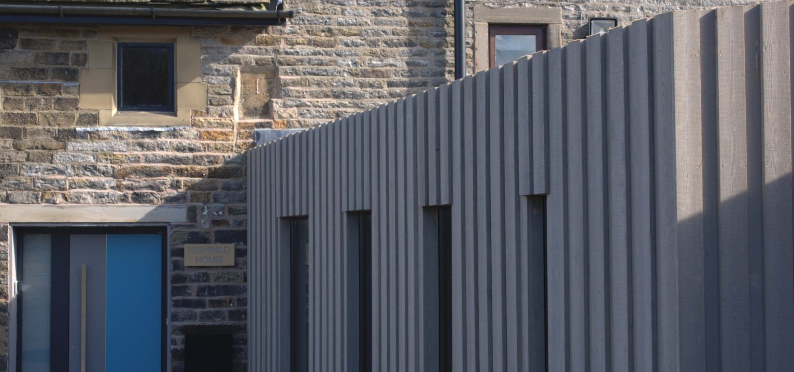 Architectural extension timber cladding Bloom